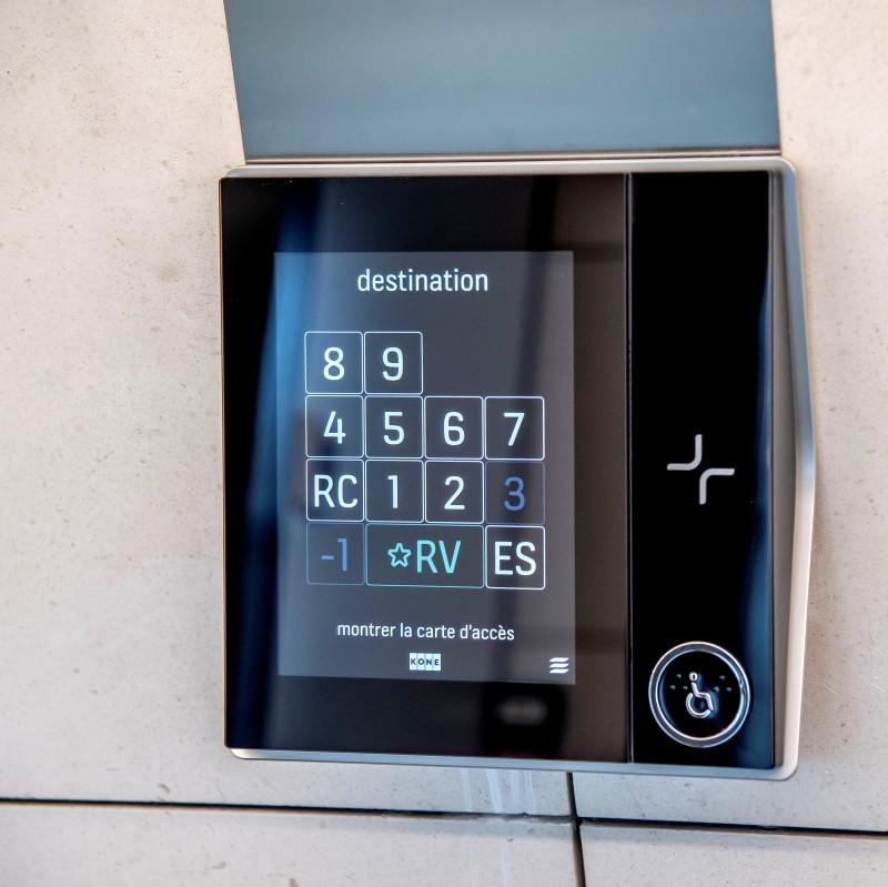 Ascenseur intelligent, vous n'attendrez plus des heures qu'il arrive